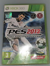 Pro Evolution Soccer 2013 PES Xbox 360 Game X360 Football Konami Great Condition