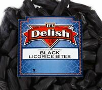 Black Licorice Bits by Its Delish, 4 lbs