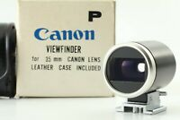 【Top Mint IN BOX】 Canon 35mm Optical Viewfinder for Rangefinder Camera Japan