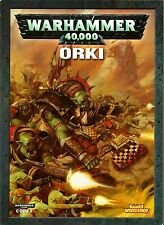 WARHAMMER 40000 40k - Codex Orki Orks Libro dell'Esercito 5 th Edition ITA NUOVO