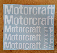 Ford Motorcraft Logos / Emblems / Stickers - asst'd, 7 total, multiple colors