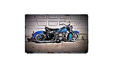1951 harley davidson panhead Bike Motorcycle A4 Photo Poster