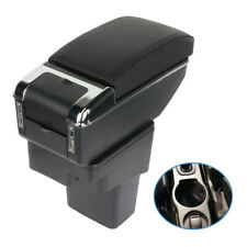 Lether Center Console For Nissan Juke 2011 2015 Container Armrest Black Classic Fits Nissan