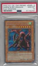 YuGiOh Harpie's Pet Dragon PSA 10 GEM MINT FMR-002 Secret Rare Playstation Promo