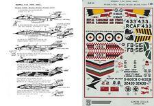 ALMARK DECALS 1/48 F-101A/B/CF-101/RF-101A/C/H Voodoo 363rd 460th TRW(USAF/RCAF)