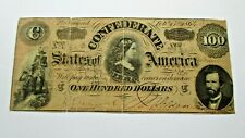 $100.00 Confederate Note - Feb 17 1864 - Lucy Holcombe Pickens