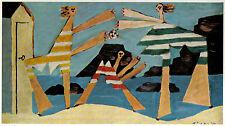 Pablo Picasso 1955 Litho Print w/coa. UNIQUE GIFT PRESENT simply joyful RARE ART