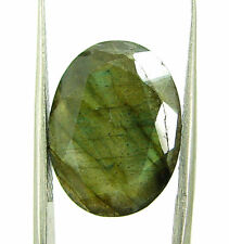 8.85 Ct Natural Untreated Labradorite Loose Faceted Gemstone Oval Cut - 18630