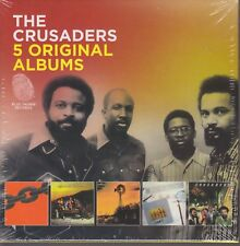 The Crusaders / Chain Reaction, Free As The Wind, Images, u.a.  (5 CDs,OVP)