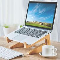 Eg _ Kd _ Staccabile di Legno Laptop & Tastiera Stand Sostegno Tavolo Notebook