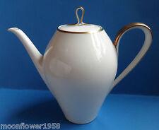 Porzellan Kaffeekanne Eschenbach Elfenbein Goldrand Kanne & Deckel 1,2 L Bavaria