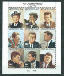 Mali - Post Yvert 975/83 MNH Kennedy