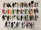 Vintage 1980s G.I. Joe Cobra Lot of 30 Complete Action Figures Accessories ARAH