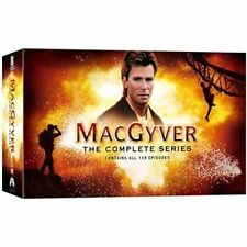 MacGyver Complete Collection Series Season 1-7 DVD SET Episodes Lot Box TV Show