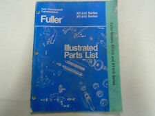 Eaton Fuller RT-510 RT-610 Series Transmission Parts Catalog Manual Used Book **