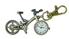 Taschenuhr TU16 in Fahrrad Form, Schlüsselanhänger Anhänger Karabinerhaken