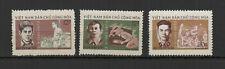 Vietnam du N 1970 Fondation République Démocratique 3 timbres neufs MNH/TR8430