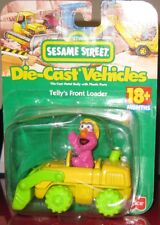 SESAME STREET DIECAST TELLY'S FRONT LOADER BY FISHER PRICE ** BRAND NEW  **