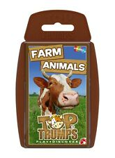 TOP TRUMPS FARM ANIMALS CARD GAME BRAND NEW