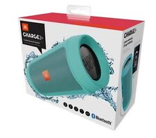 *NEW* JBL Charge 2+ Rechargeable Wireless Bluetooth Mobile Phone Speaker (TEAL)