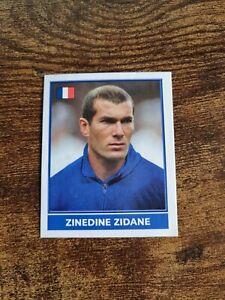 Rare Merlin England Euro 2004 Zinedine Zidane France Football Sticker New Mint