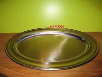 ALESSI *NEW* Plat inox satiné bord brillant 40cm E11040