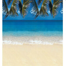 Beach Party Wall Decoration Tropical Luau Tiki Photo Backdrop Paper