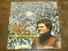 PIERRE HENRY Musiques pour une fête LP