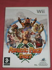 ATHLETIC PIGGY PARTY (Cochon - Sport à la ferme)-  Jeu WII/WII U  Complet