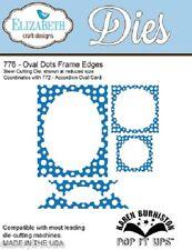 Elizabeth Craft Designs - Pop It Ups - Oval Dots Frame Edges - ECDD776 - SALE