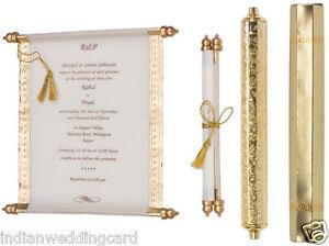 scroll wedding invitation in high end style wedding scrolls cards