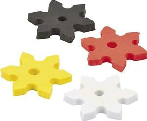 Pack of 12 - Ninja Star Erasers - Great for TMNT Turtles Party Loot Bags