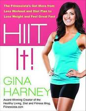 NEW Hiit It! by Gina Harney BOOK (Paperback) Free P&H