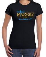 559 Dragonfly Inn womens T-shirt gilmore tv show girls funny costume lukes diner