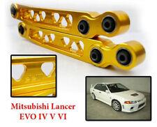 2pcs DD Rear Lower Control Arm Gold MITSUBISHI LANCER EVO 4 5 6 CN9A CP9A 4G63