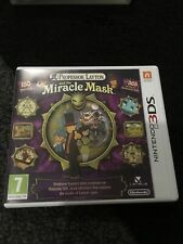 Professor Layton and the Miracle Mask (Nintendo 3DS, 2012) - European Version