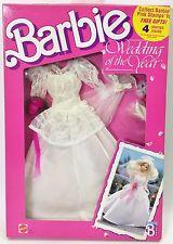 1989 BARBIE WEDDING OF THE YEAR FASHIONS WEDDING GOWN 3788 NRFB