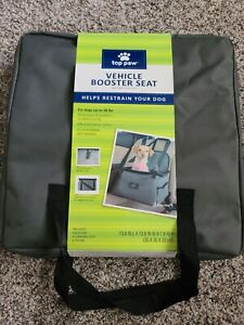 NEW Top Paw Collapsible Pet Booster Car Seat for Small Dog Carrier up to 18 lbs
