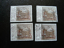 FRANCE - timbre yvert et tellier n° 2174 x4 obl (A01) stamp french