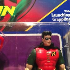 Batman Returns - Robin w/Launching Grappling Hook! NEW