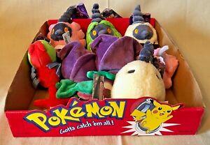 2008 Jakks Pokemon DP Battle Dimension Plush (Lot of 8) & Store Display NEW NWT