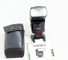 Canon Speedlite 580EX Shoe Mount Flash t3i t4i t5i t6i 40D 50D 60D 70D 80D 7D