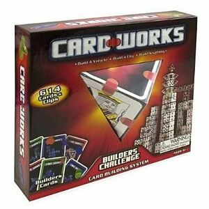 NEW KIDS BLIP TOYS CARD WORKS BUILDERS CHALLENGE SYSTEM GAME 614 CARDS AND CLIPS
