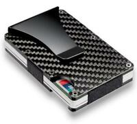 Anti-chief Aluminum Purse RFID Blocking Wallet Money ID Credit Card Holder Case