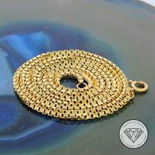 Wert 1.050,- Elegante 750 / 18 Karat Gelb Gold Venezianer Kette Unisex 71,0 cm