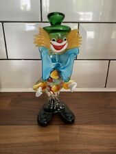 VINTAGE MURANO GLASS CLOWN