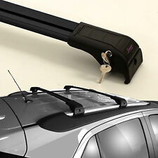 Alu portaequipajes razón portador vigas transversales | Black | VW t5 a partir de año 2003
