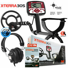 """Minelab X-Terra 305 Metal Detector with 9"""" Search Coil and RPG Headphones"""