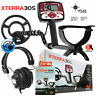 "Minelab X-Terra 305 Metal Detector with 9"" Search Coil and RPG Headphones"