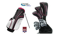PETITE LADIES RIGHT HAND L-XLT COMPLETE GOLF CLUB SET wDRIVER+BAG+PUTTER AGXGOLF